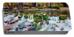 Giant Springs 1 Portable Battery Charger by Susan Kinney