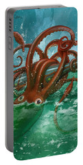 Giant Squid And Nautilus Portable Battery Charger