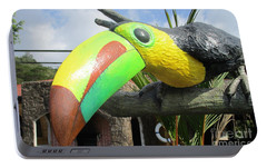 Giant Toucan Portable Battery Charger by Randall Weidner