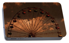 Portable Battery Charger featuring the photograph Giant Wheel by David Dehner