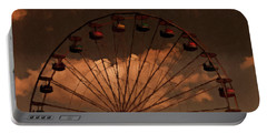 Giant Wheel Portable Battery Charger by David Dehner