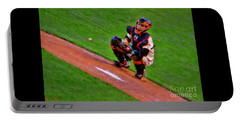 Giants Buster Posey Gets Fast Ball Portable Battery Charger