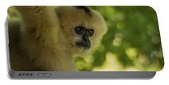 Gibbon Portrait Portable Battery Charger