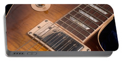 Gibson Les Paul Guitar By Gene Martin Portable Battery Charger