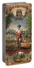 Gift For The Grangers Promotional Poster 1873 Portable Battery Charger