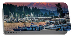 Gig Harbor Dusk Portable Battery Charger