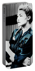 Gigi Hadid 1a Portable Battery Charger by Brian Reaves
