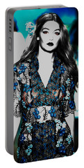 Gigi Hadid 1e Portable Battery Charger by Brian Reaves
