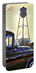 Gilbert Arizona Water Tower Portable Battery Charger by Karyn Robinson