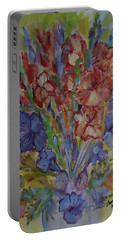 Gilded Flowers Portable Battery Charger