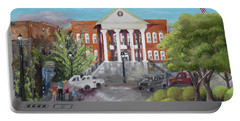 Gilmer County Courthouse - Ellijay, Ga Portable Battery Charger by Jan Dappen