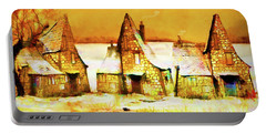 Gingerbread Cottages Portable Battery Charger