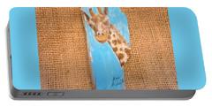 Giraffe  Portable Battery Charger by Ann Michelle Swadener
