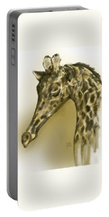 Giraffe Contemplation Portable Battery Charger