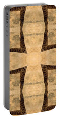 Giraffe Cross Portable Battery Charger by Maria Watt
