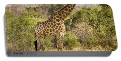 Giraffe Grazing Portable Battery Charger