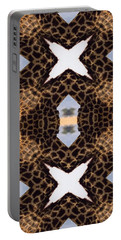Giraffe I Portable Battery Charger by Maria Watt