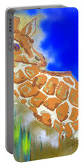 Giraffe Portable Battery Charger by J R Seymour