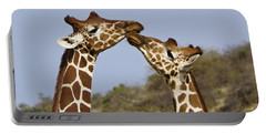 Giraffe Kisses Portable Battery Charger