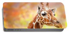 Giraffe, Animal Decor, Nursery Decor,  Portable Battery Charger