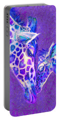 Giraffe Love 515 Portable Battery Charger by Jane Schnetlage