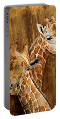 Giraffe Pair Portable Battery Charger