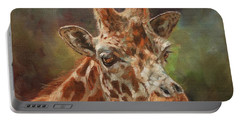 Giraffe Portrait Portable Battery Charger