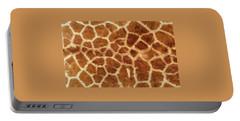 Giraffe Skin Close Up 2 Portable Battery Charger