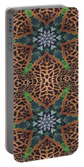Giraffe Stars Portable Battery Charger by Maria Watt