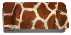 Giraffe Textures Portable Battery Charger