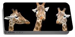 Giraffe Trio Portable Battery Charger