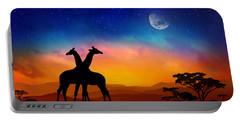 Giraffes Can Dance Portable Battery Charger