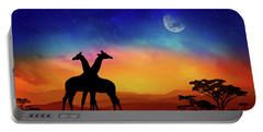 Giraffes Can Dance Portable Battery Charger