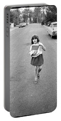 Girl On 13th Street, 1971 Portable Battery Charger