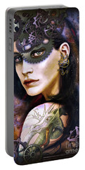 Girl With Dragon Tattoo Portable Battery Charger
