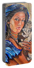 Independent Indian Girl.              From The Attitude Girls  Portable Battery Charger