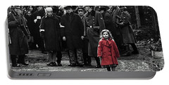 Girl With Red Coat Publicity Photo Schindlers List 1993 Portable Battery Charger