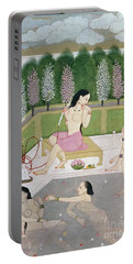 Girls Bathing Portable Battery Charger
