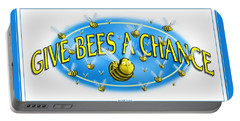 Give Bees A Chance Portable Battery Charger