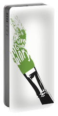 Give God Glory  Portable Battery Charger by Christopher Marion Thomas