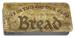 Give Us This Day Our Daily Bread Portable Battery Charger