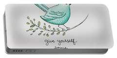 Give Yourself Some Grace Portable Battery Charger