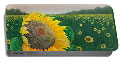 Portable Battery Charger featuring the painting Giver Of Life by Susan DeLain