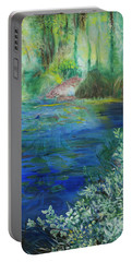 Giverney Impresssion Portable Battery Charger