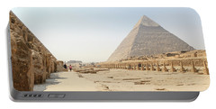Portable Battery Charger featuring the photograph Giza by Silvia Bruno