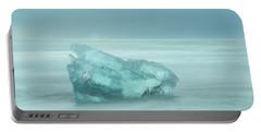 Glacial Iceberg Seascape. Portable Battery Charger