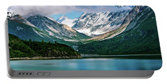 Portable Battery Charger featuring the photograph Glacial Valley by John Hight