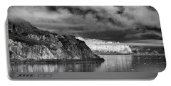 Glacier Bay Alaska In Bw Portable Battery Charger