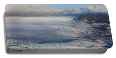 Portable Battery Charger featuring the photograph Glacier In Alaska by Jingjits Photography
