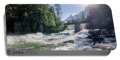 Glacier National Park Beauty Portable Battery Charger